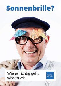 Herbert Knebel gibt Imagekampagne des AOV Stimme und Aussehen