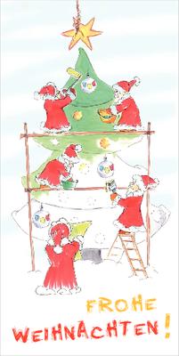 Wieder erhältlich: Weihnachtskarten mit neuen Motiven