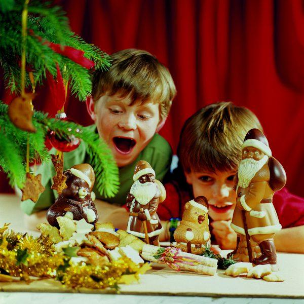 Weihnachtsmann & Co. aus der Konditorei