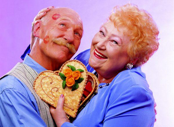 Valentinsgrüsse aus der Konditorei
