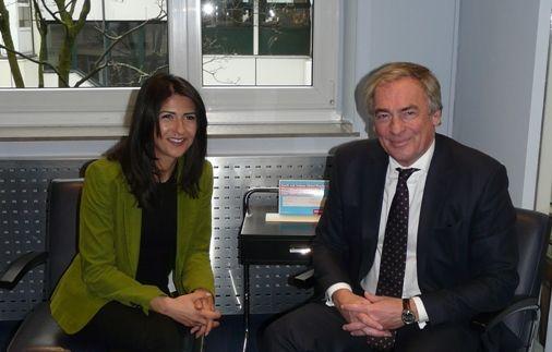Besuch der CDU-Fraktionssprecherin für Integration Serap Güler MdL in der LIV-Geschäftsstelle