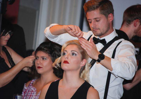DSDS-Stars beim Workshop der Friseur-Innung Dortmund und Lünen