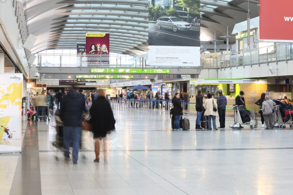 Leichtes Passagier-Plus am Dortmunder Flughafen