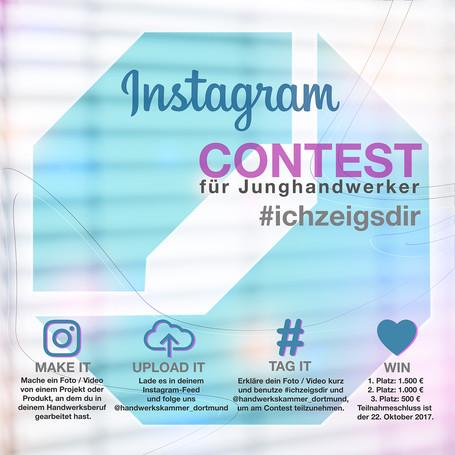 Instagram-Contest für Junghandwerker gestartet
