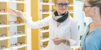 """Die Brillenoptik bildet mit über 80 Prozent weiterhin den größten Anteil am Gesamtbranchenumsatz. Quellenangabe: """"obs/ZVA/Heike Skamper"""""""