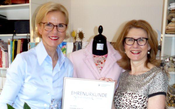 25. Geschäftsgründungsjubiläum Maßatelier Susanne Schulte