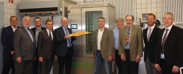 Bäckerfachschule erhält Vakuumkonditionierungsanlage