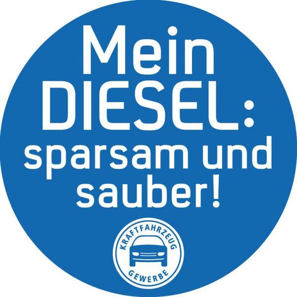 Kfz-Gewerbe wirbt für den Diesel