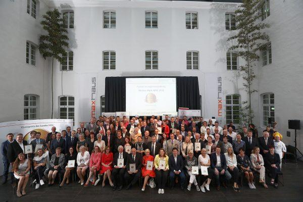 Meister.Werk.NRW 2018 - Auszeichnungsfeier am 18.06.2018 Alle Preisträgerinnen und Preisträger des Meister.Werk.NRW 2018. (Foto: MULNV/Yavuz Arslan)