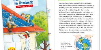 Das Pixi Wissen-Heft »Nachhaltigkeit im Handwerk«, Quelle WHKT NRW