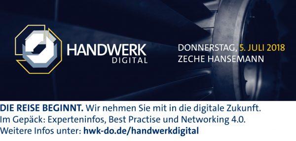 Messe HANDWERK DIGITAL zeigt Chancen der Digitalisierung