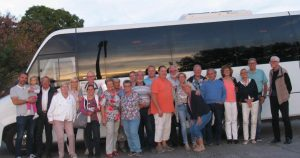 Auf dem Foto sind die Teilnehmer des Innungsausfluges zu sehen. Foto: Innung