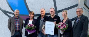 65-jähriges Geschäftsgründungsjubiläum der Firma Meuten GmbH