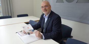Stephan Lohmann, Geschäftsführer des Fachverbandes Metall NW